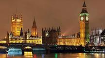 O palácio de Westminster, em Londres
