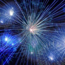 Os fogos de artifício e as opções de Ano Novo em Londres!