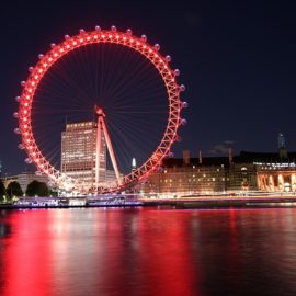 Curiosidades sobre a London Eye
