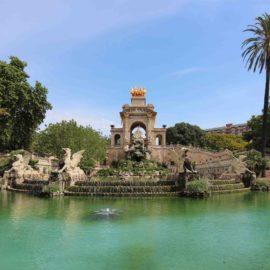 Barcelona na primavera: Parque de la Ciutadella